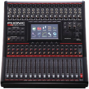 16 Ch Digital Mixer W/Motorized Faders, FX, 8 AUX and Much More!