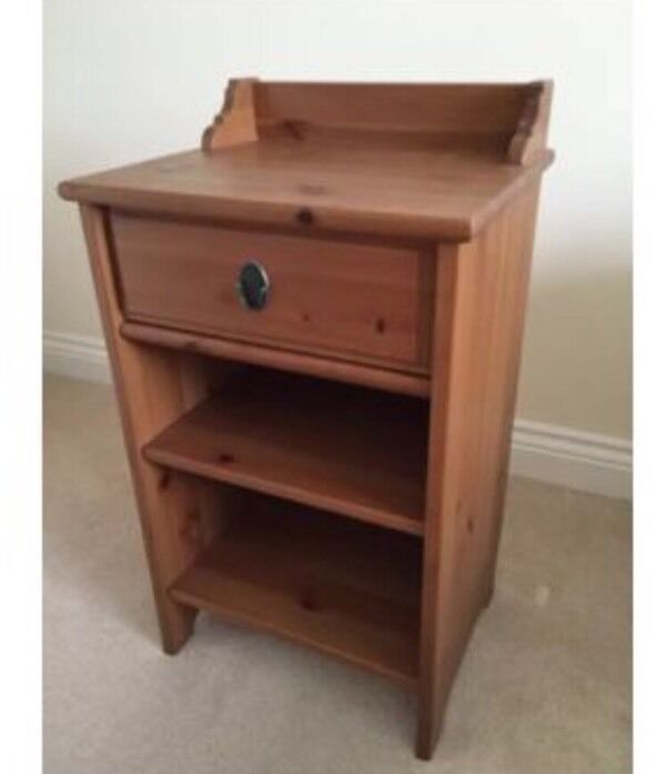 Ikea Leksvik bedside table | in Victoria, London | Gumtree