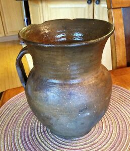 Antique Pottery - Earthenware Jug