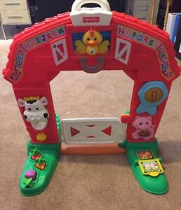 Fisher Price Farm Door