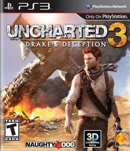 Uncharted 3 Drake's Deception for PS3