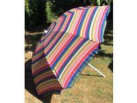 Large Garden Parasol Garden Table Umbrella Tilting Sunshade