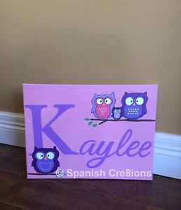 Personalized art/signs for your kids room & nurseries