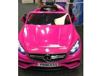 Mercedes S63 In Pink, Parental Remote & Self Drive