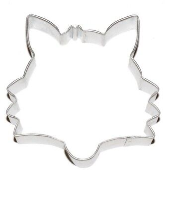 Animal Sugar Cookies (Fox Face Animal Cookie Cutter 3.5
