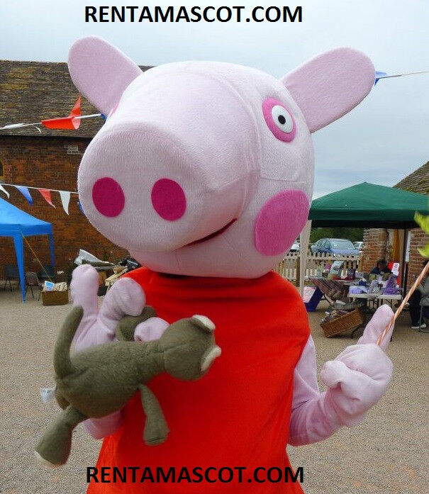 PEPPA GEORGE PIG MASCOT FANCY DRESS COSTUME PARTY EVENT ENTERTAINMENT OUTFIT