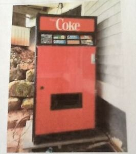 Canned pop machine programmed for toonies