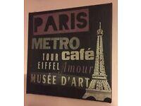 Paris & London Small Canvases