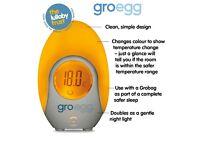 GoBag egg room thermometer