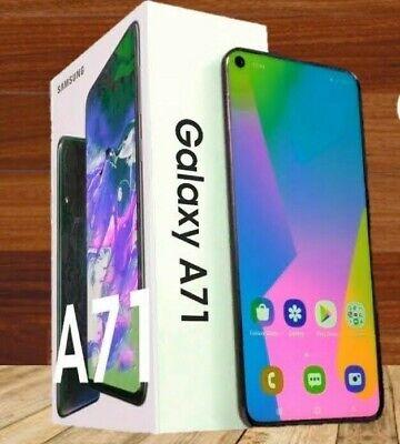SAMSUNG A715 GALAXY A71 DUAL SIM 128GB ITALIA BLACK NUOVO SPEDIZIONI ASSICURATE