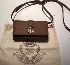 Ralph Lauren Leather Crossbody purse/bag