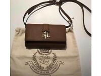 Ralph Lauren Leather Crossbody purse/bag