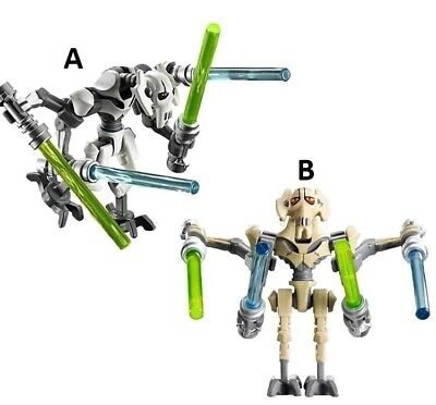 Star Wars General Grievous Compatible Custom Lego Mini Figure Jedi Warrior Toy