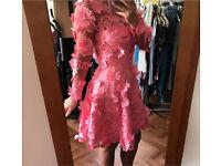ASOS Salon 3D lace appliqué dress