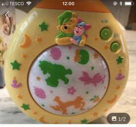 Winnie the Pooh Dreamtime light show by tomy