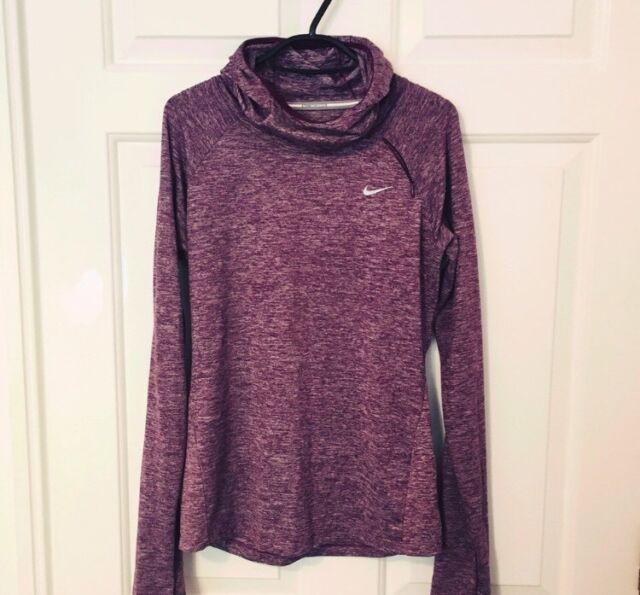 a155603ab363 Nike running DRI FIT Element long sleeved thin jumper