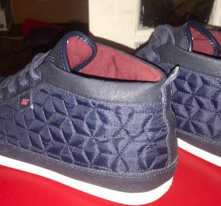cheap for discount f8d4a 198ac Box Fresh, Dark Royal Blue Mens Hi Tops Uk9