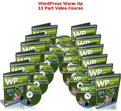 Learn Wordpress   Build Your Wordpress Website Or Blog Complete Video Course  Cd