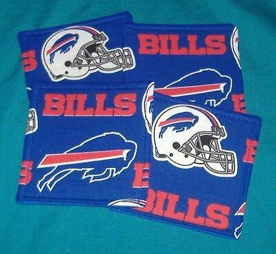 Buffalo Bills Coaster - NEW  BUFFALO BILLS  FOOTBALL NFL TEAM   Drink COASTER SET OF 4
