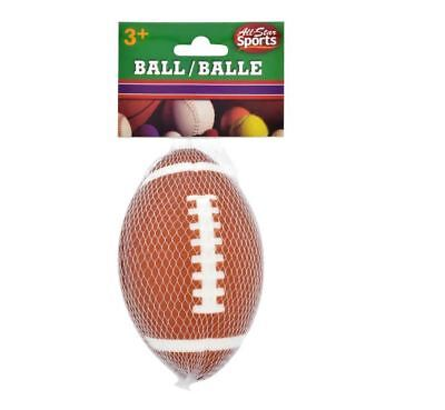 All-Star Sports Mini Soft Foam Football Safe Healthy Activities For Kids 3+ F/S ()