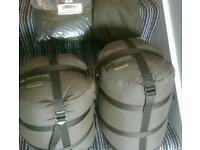 Carinthia Defence 4 sleeping bag, and Pollycotton Liner