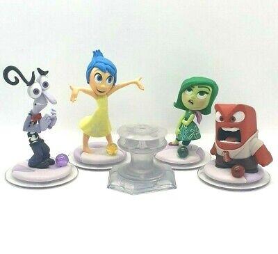 Disney Infinity 3.0   Fear Joy Disgust Anger Inside Out Playset   5 Figure Set