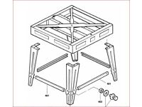 Support legs/ frame for ELU 8103 Radial Arm saw