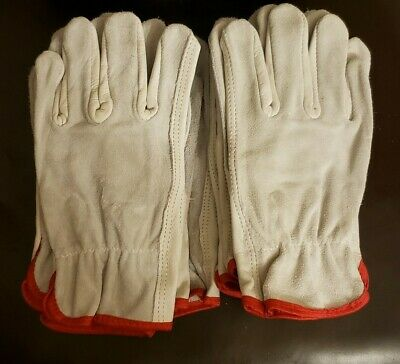Glove 100 Leather Work Gloves Industrial Driver Size Small 1 Pair