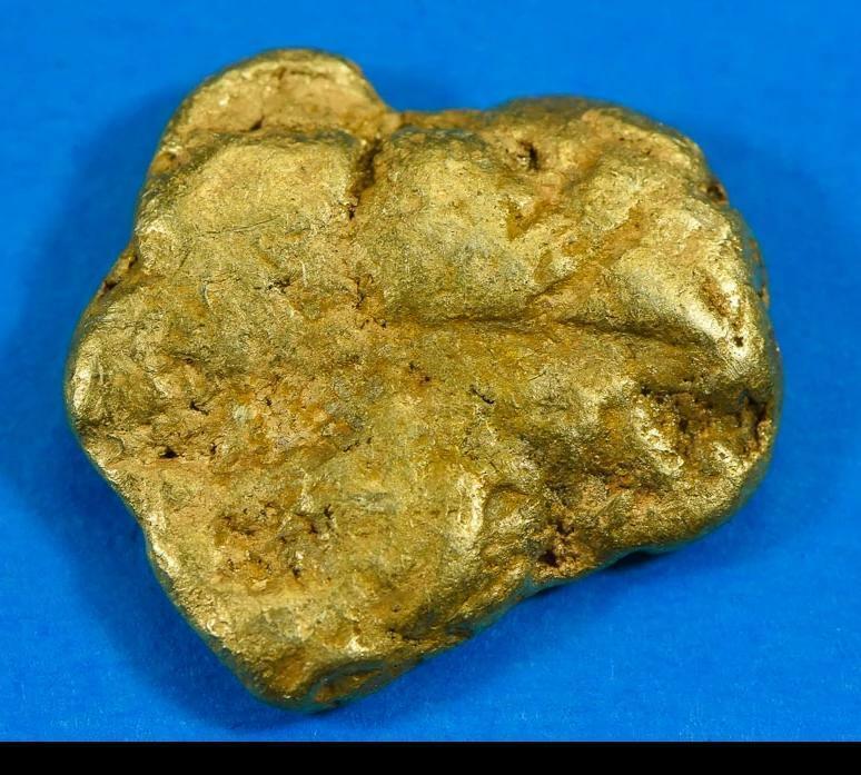 #371-B Alaskan BC Natural Gold Nugget 15.79 Grams Genuine