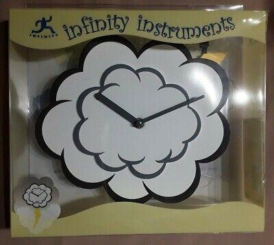 """Infinity Instruments 14407 - 16 1/4"""" Children's Wall Clock Cloud Lightening Stor"""