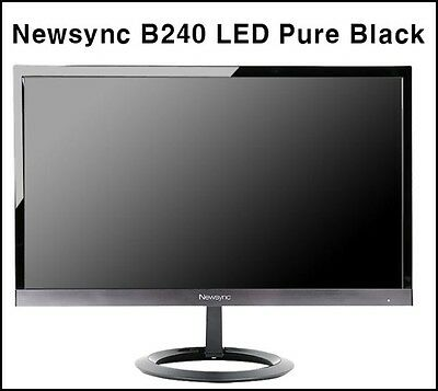 "Bitm - Newsync B240 LED Pure Black 24"" IPS / WIDE 16:9 / 1920 X 1080 FHD Monitor"