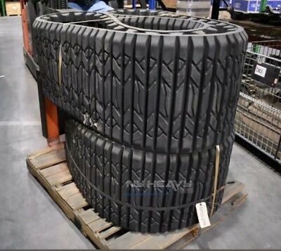 Two Factory Oem Rubber Tracks For Asv Sr80 20x4cx51 20 2035-020 2035020