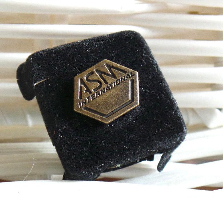 Tie Tack, A.S.M.International Society Membership Pin, (Engineering & Scientific)
