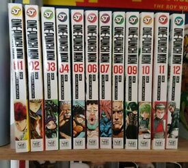 Swap One Punch Manga VOL 1 - 12 for Dragonball Z Movie 5: Broly Trilogy