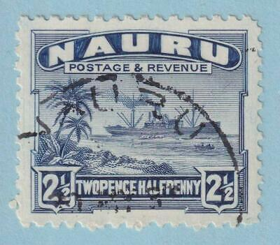 NAURU 21  USED - NO FAULTS EXTRA FINE!
