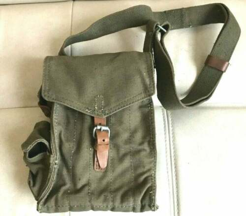 Original Rus Pouch 5 Cell for 5 mags Canvas shoulder strap Heavy duty tarpulin