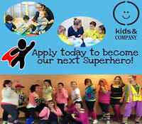 APPLY NOW: ECE SUPERHERO (Supply/ On-Call Positions Available)