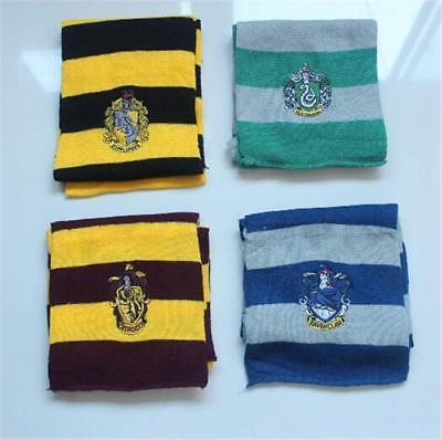 Harry Potter Style Kinder Hogwarts Kostüm Zubehör House Schal Orden Schild