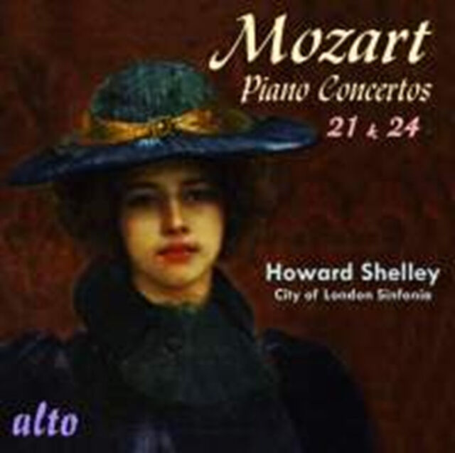 CD MOZART PIANO CONCERTOS 21 K467 & 24 K491 HOWARD SHELLEY CITY LONDON SINFONIA