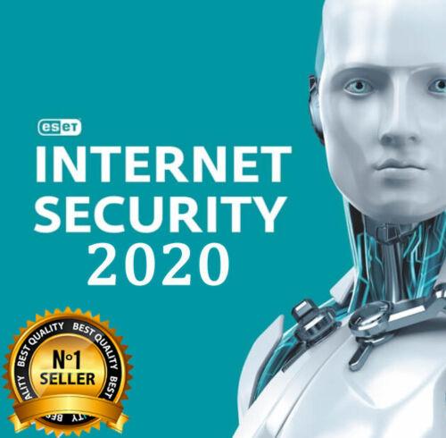 ESET NOD32 INTERNET SECURITY 2020 ✅ 3 YEARS 1 PC ✅ GENUINE GLOBAL ACTIVATION KEY