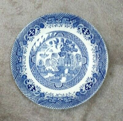 Chinese Blue Plate Small Plate 10CM Antique FREEPOST