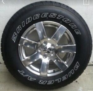 255 70 R18 Jeep Rims Tires