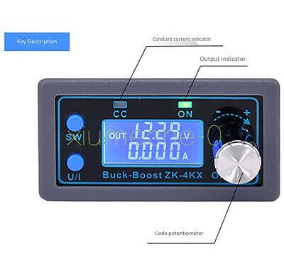 0.5-30v Adjustable Dc-dc Buck Boost Converter Cc Cv Output Power Supply Module F