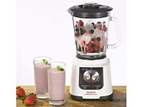 TEFAL Mastermix - Powerful Thermo-resistant Glass Blender 6 blades, 3 combined actions