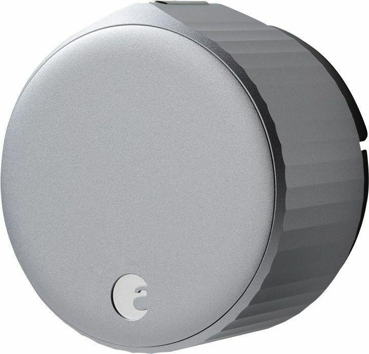 August - Wi-Fi Smart Lock (4th Gen) - Silver