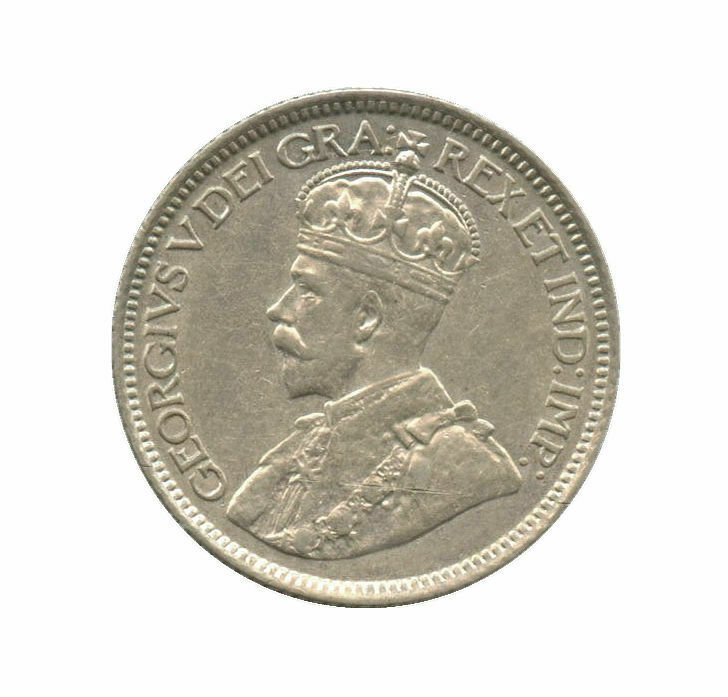 1914 Canada Silver Dime