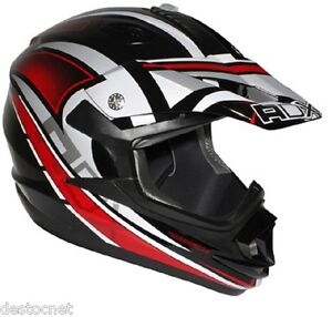 casque cross moto enduro scooter quad dirt noir rouge mx2 star homologu ebay. Black Bedroom Furniture Sets. Home Design Ideas