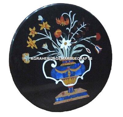 Playroom Trophies (Marble Indian Trophy Flower Vase Coffee Tables Top Handmade Art Garden Deco)