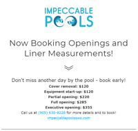 Pool Opening Special