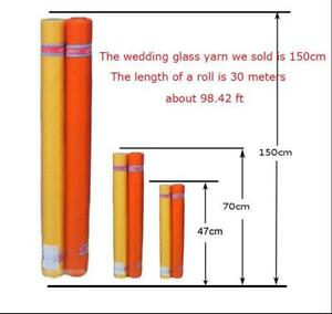 32.8Yards Bridal Wedding Draping Decoration Glass Yarn with 59'' Width(30m*1.5m) (201071)